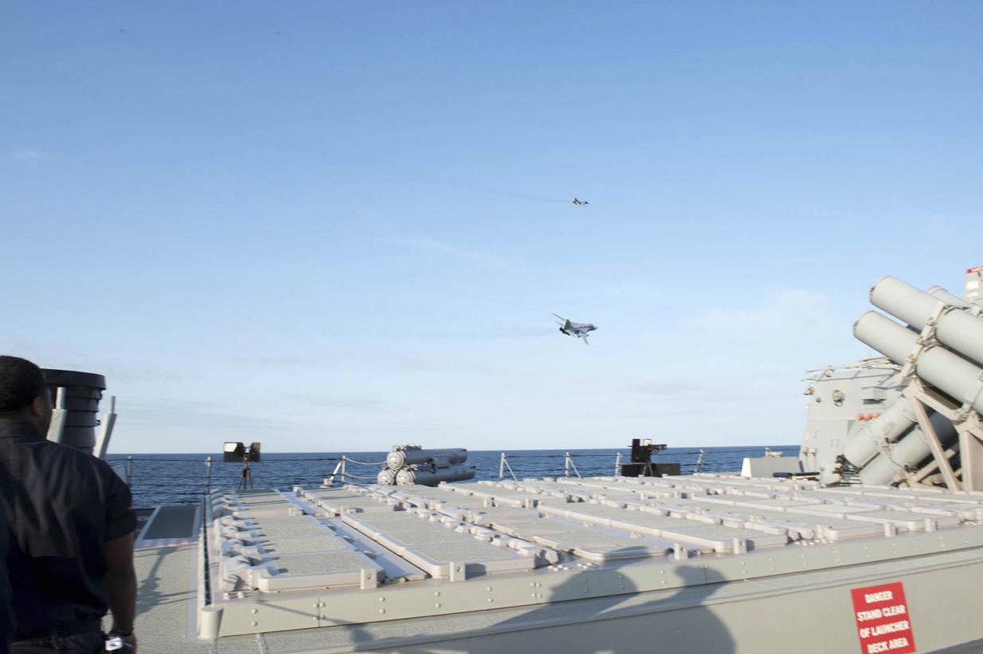Ниинисте и Лефвен могли бы обсудить инцидент в Балтийском море с Обамой