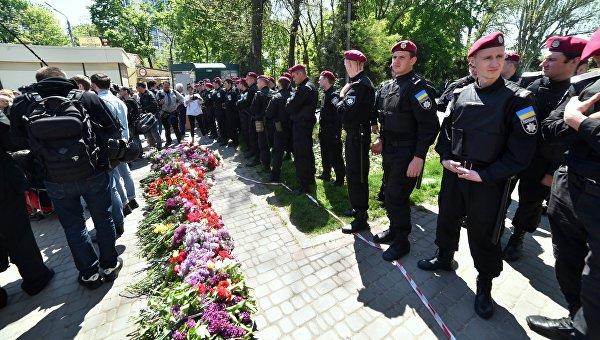 В полиции сообщают, что обстановка в Одессе в настоящее время спокойная