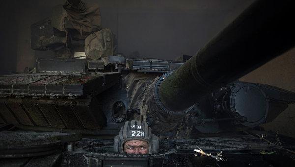 ОБСЕ: восемь танков силовиков отсутствуют в Донбассе на линии отвода