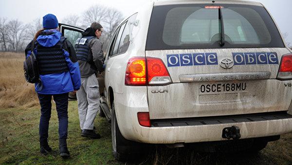 ОБСЕ сообщает о 150 взрывах близ линии соприкосновения в Донбассе