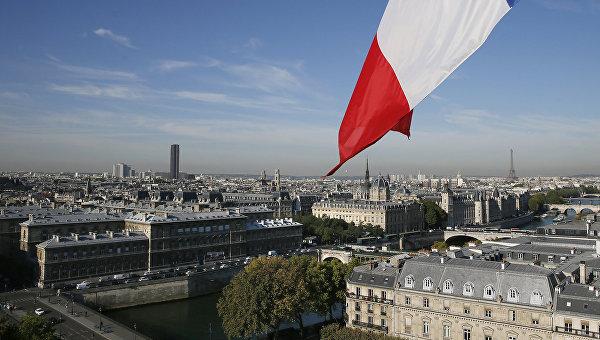 В Париже проходит акция протеста против климатического соглашения