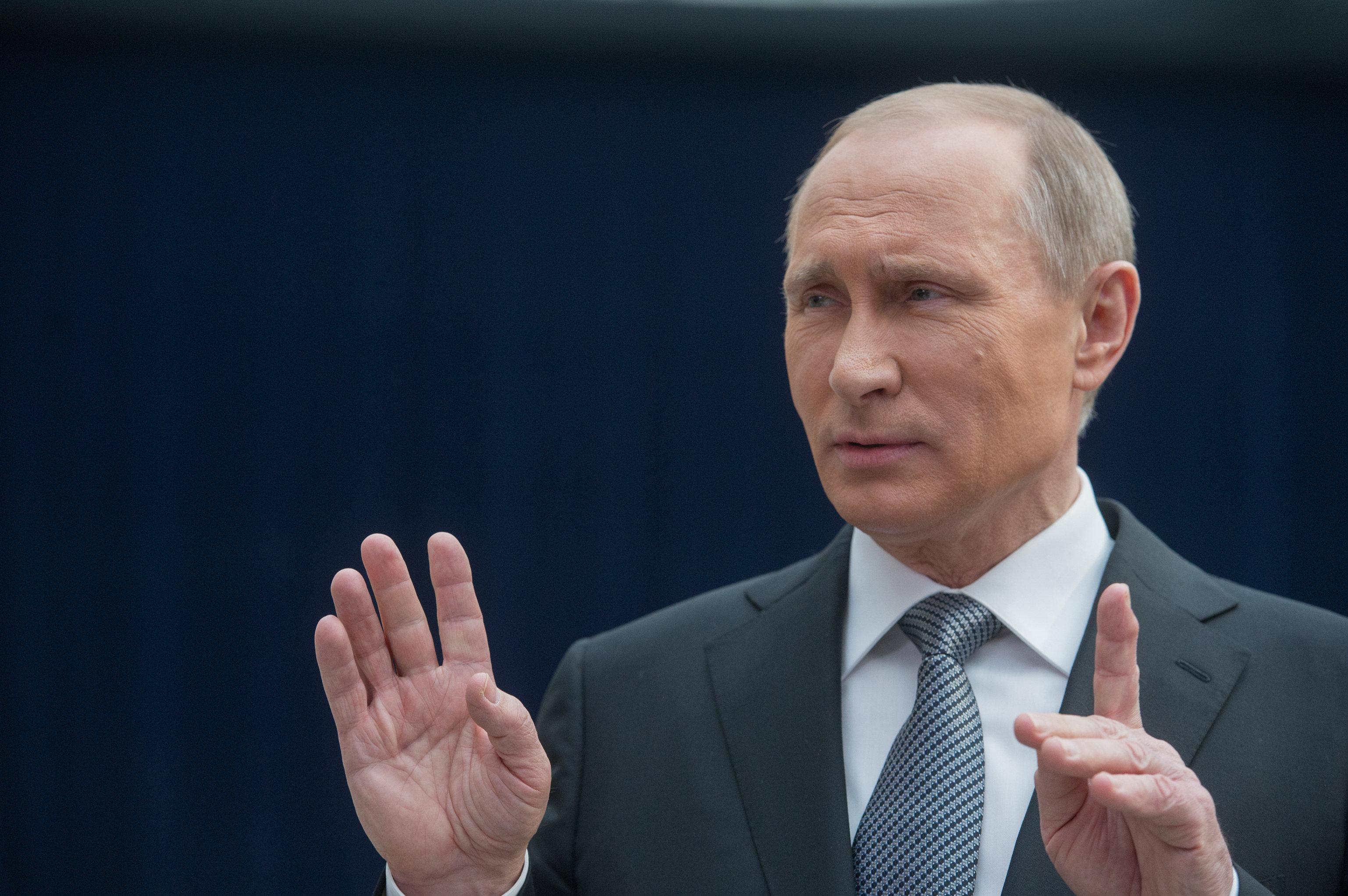 Путин против Европы