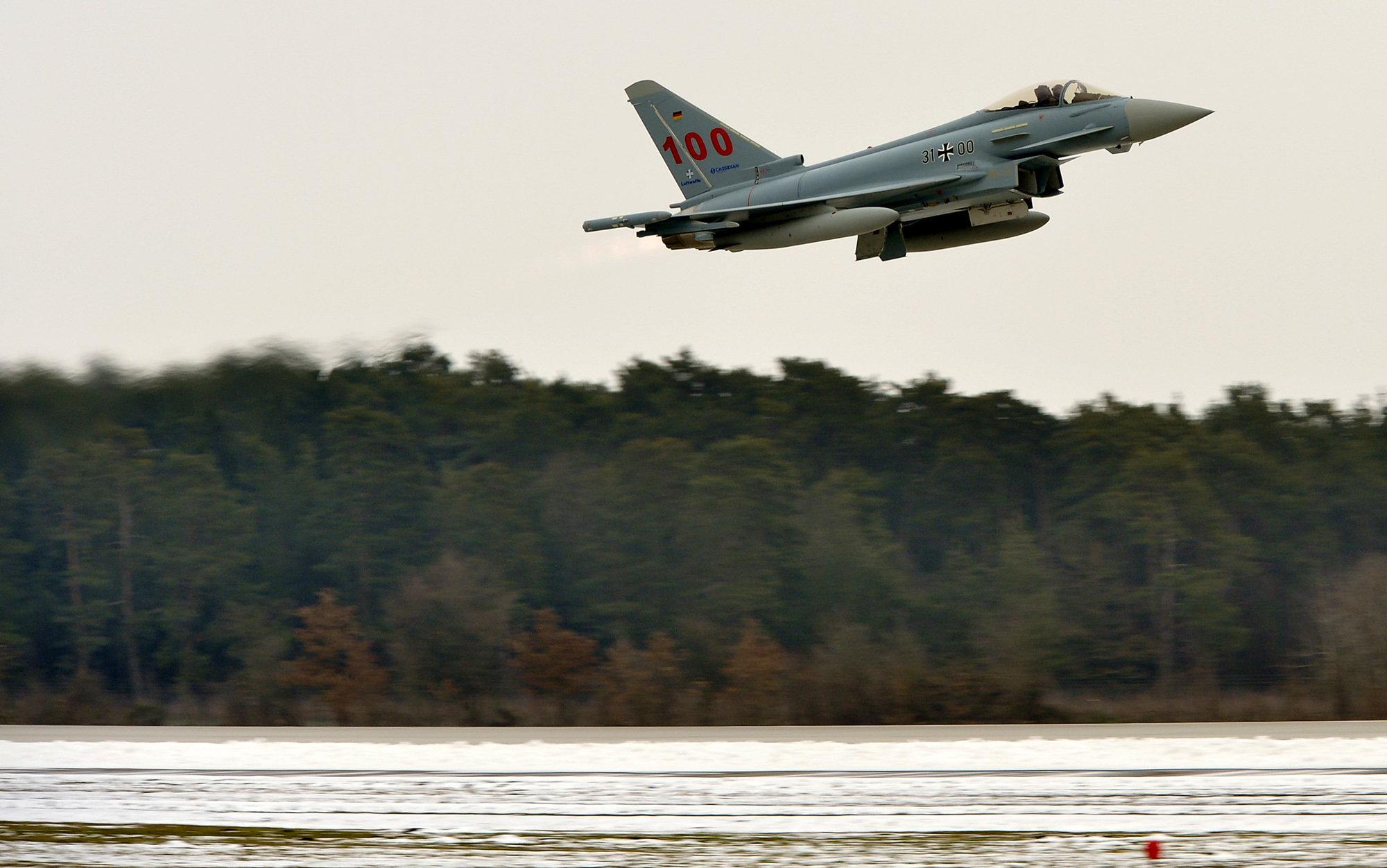 Истребители защитят Данию от Путина