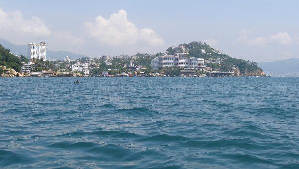 Землетрясение магнитудой 5,7 произошло у берегов Мексики
