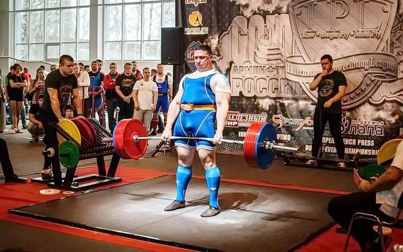 Семь брянских силачей привезли 13 медалей изМосквы