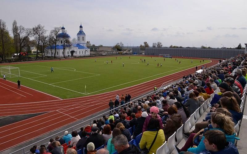В Трубчевске после реконструкции открыли стадион «Нерусса»