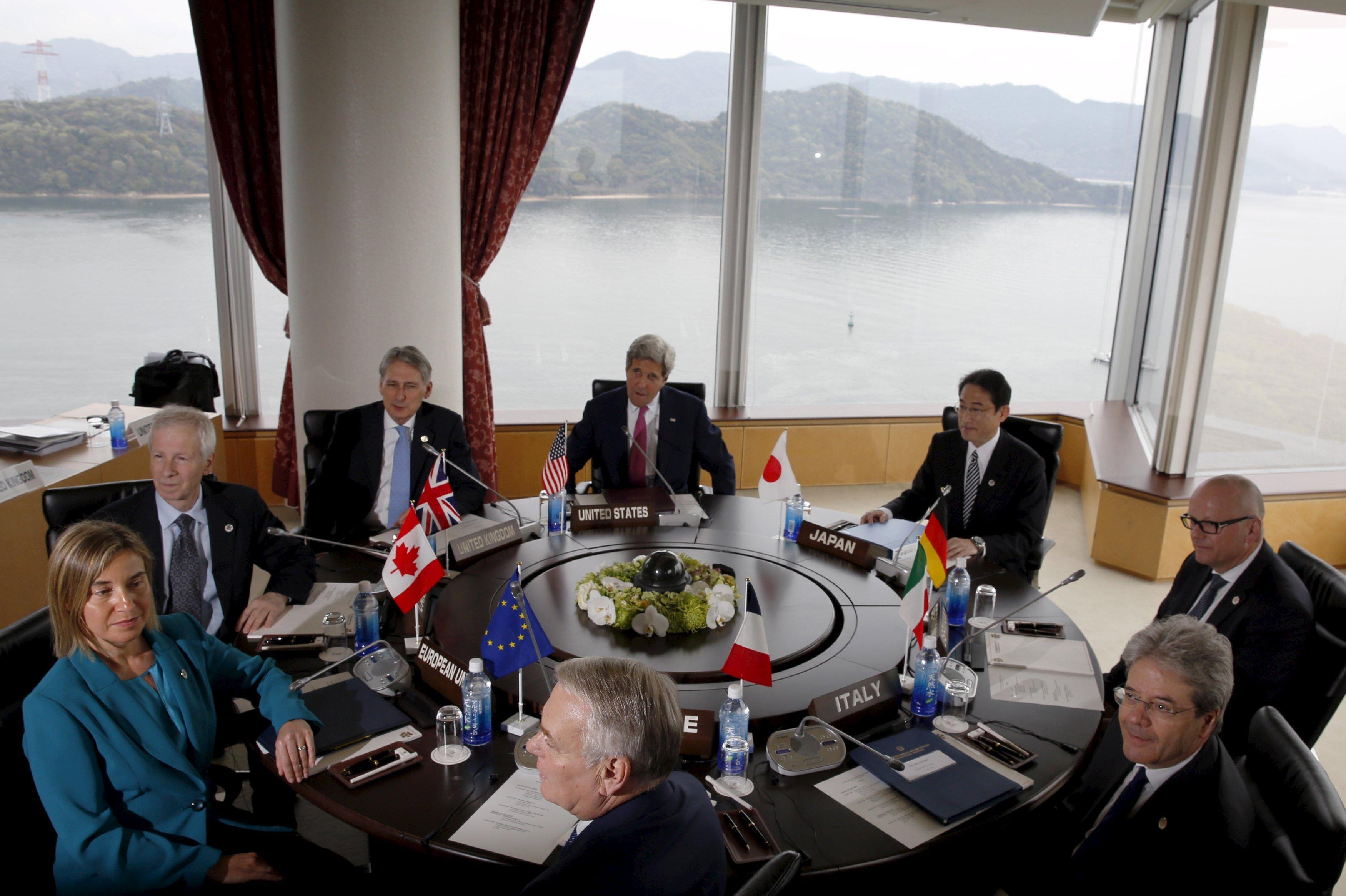 Рост влияния G7