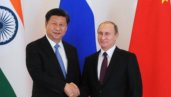 Председатель КНР ожидает визита Путина в Китай в июне