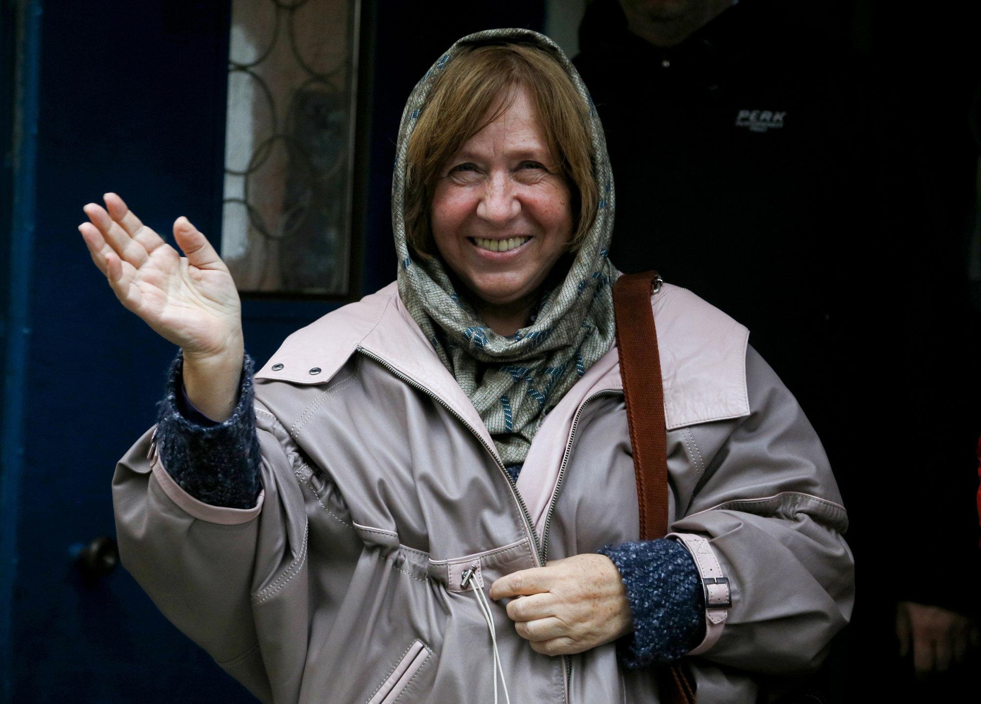 Светлана Алексиевич: Любая война — все равно убийство