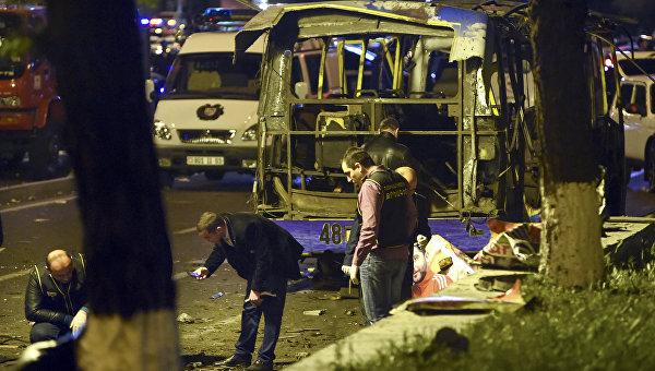 Взрыв в автобусе в Ереване: не теракт, а бытовая ссора