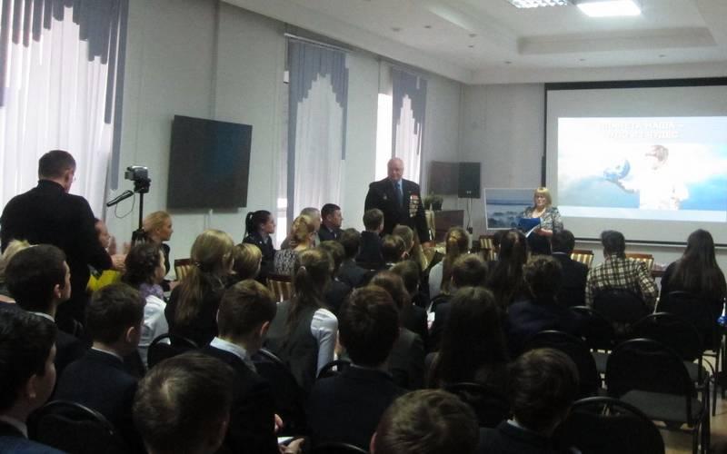 Ликвидатор-чернобылец призвал брянскую молодежь беречь планету