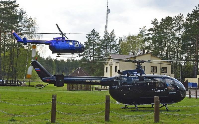В «Брянском лесу» организовали вертолетные экскурсии