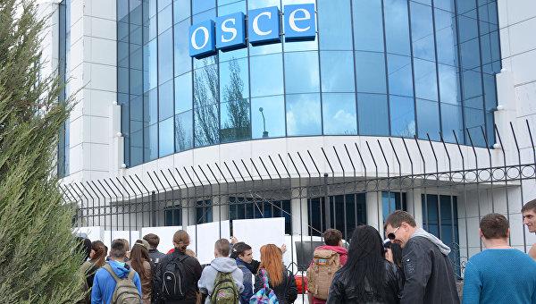 Украинские военные не пропустили наблюдателей ОБСЕ через блокпост