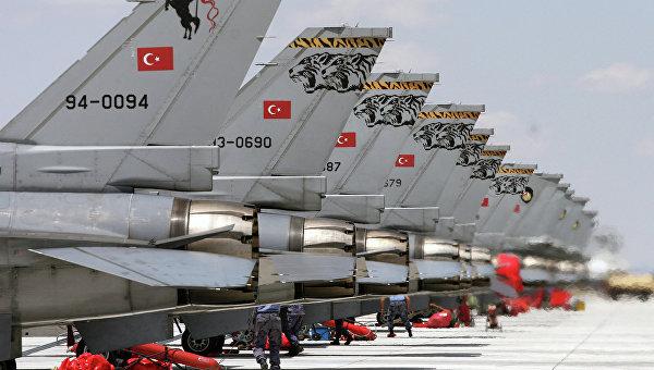 Самолеты ВВС Турции нанесли удары по базам РПК на юго-востоке страны