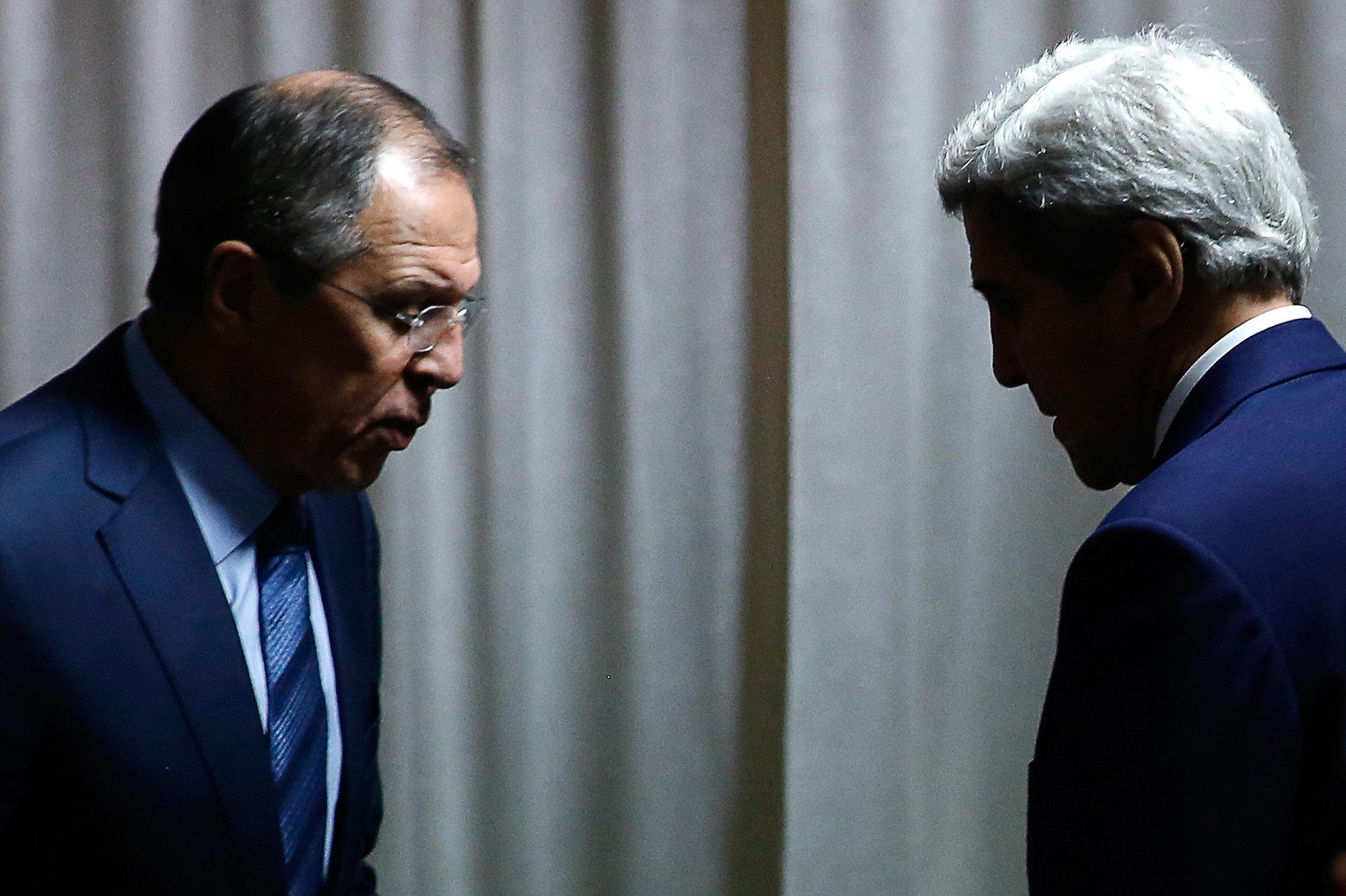Керри и Лавров: странная пара новой холодной войны