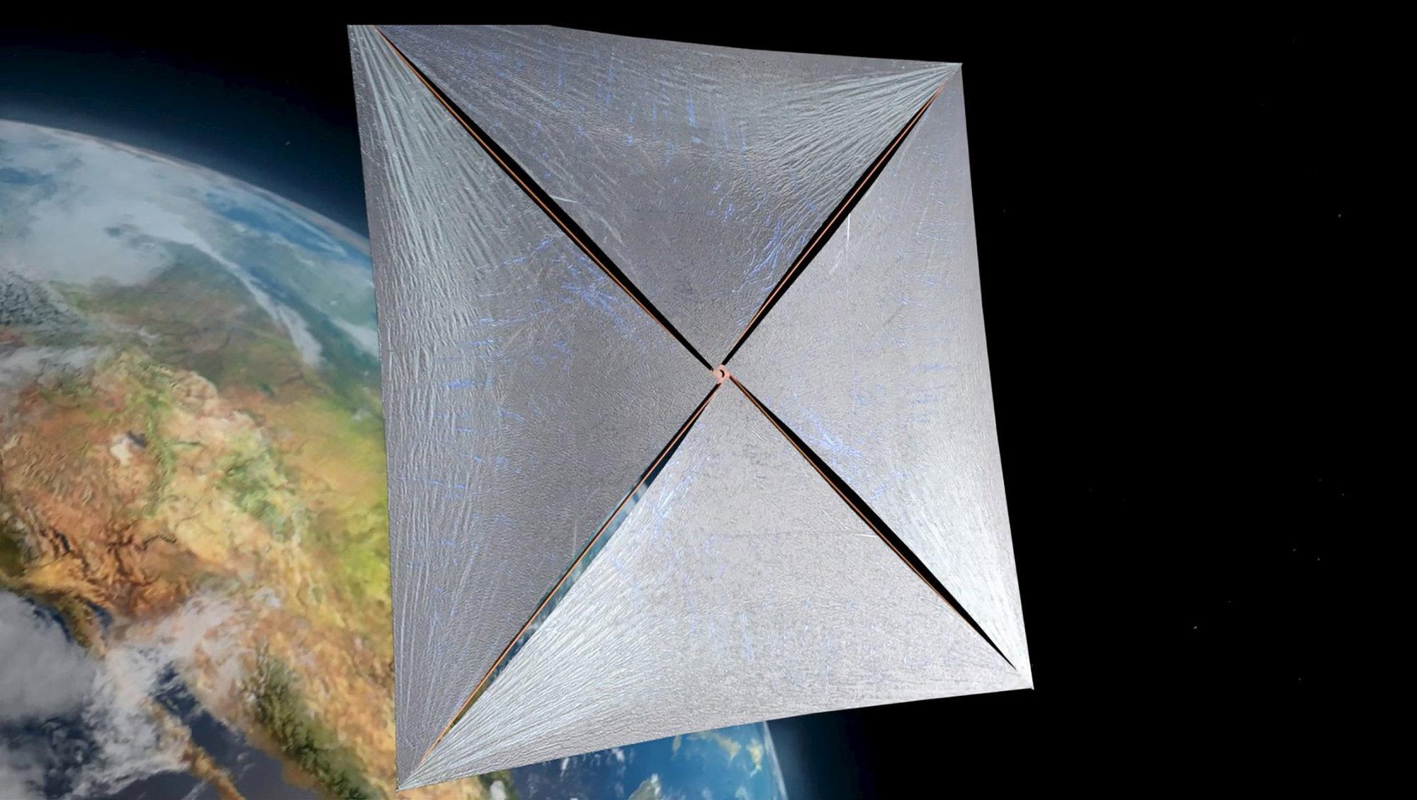 Как крошечный космический корабль может стать межзвездным при помощи физики