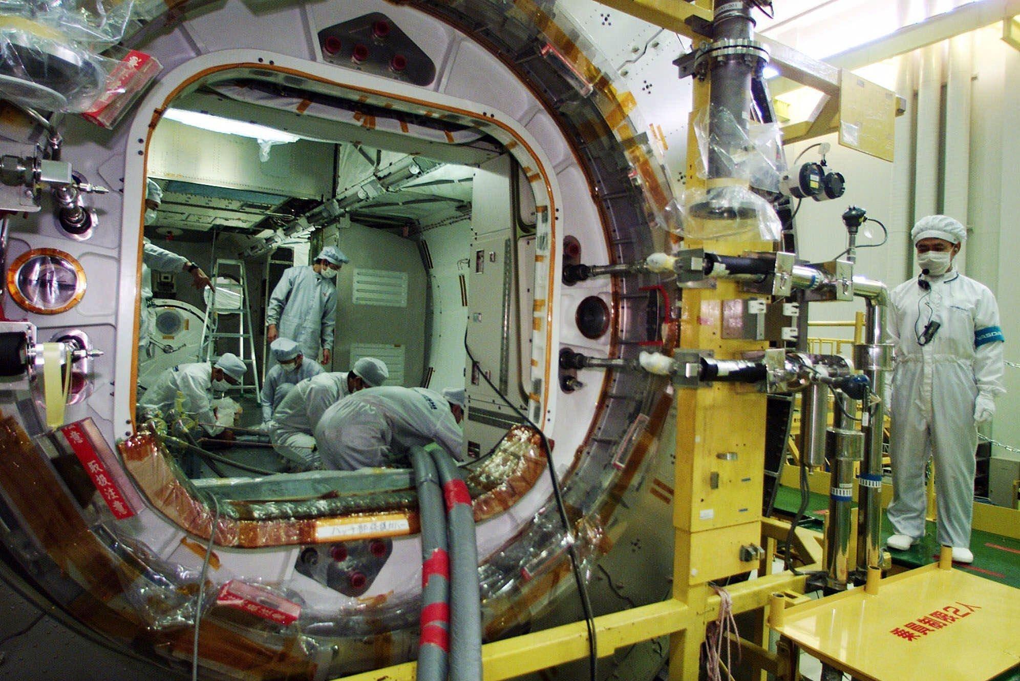 Эксперименты JAXA: длительное пребывание в замкнутом пространстве и стресс