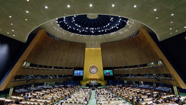 Минутой молчания почтили члены ГА ООН память жертв аварии на ЧАЭС