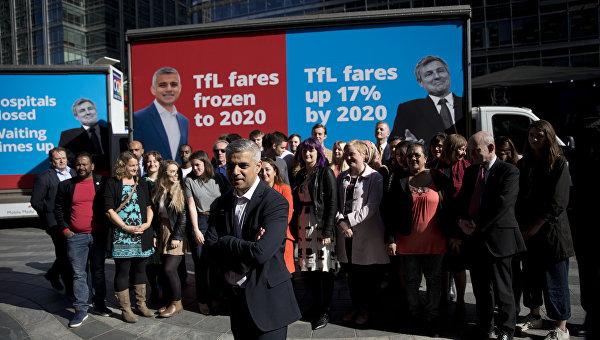 Мэром Лондона официально стал мусульманин Садик Хан