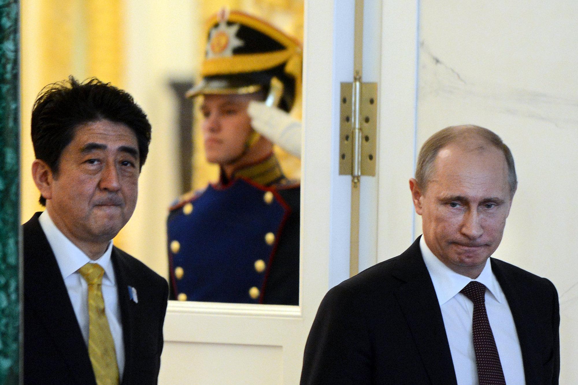 Спор об островах будет доминирующей темой на российско-японском саммите
