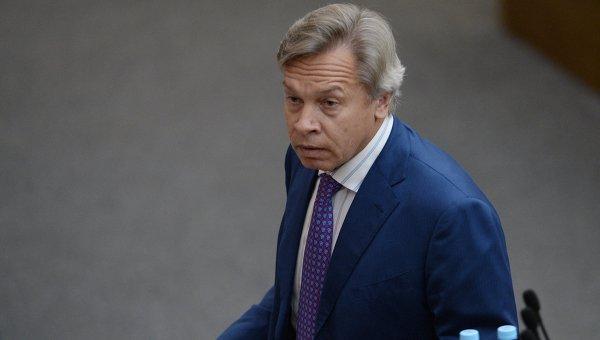 Пушков нашел противоречия в заявлениях генсека НАТО о России