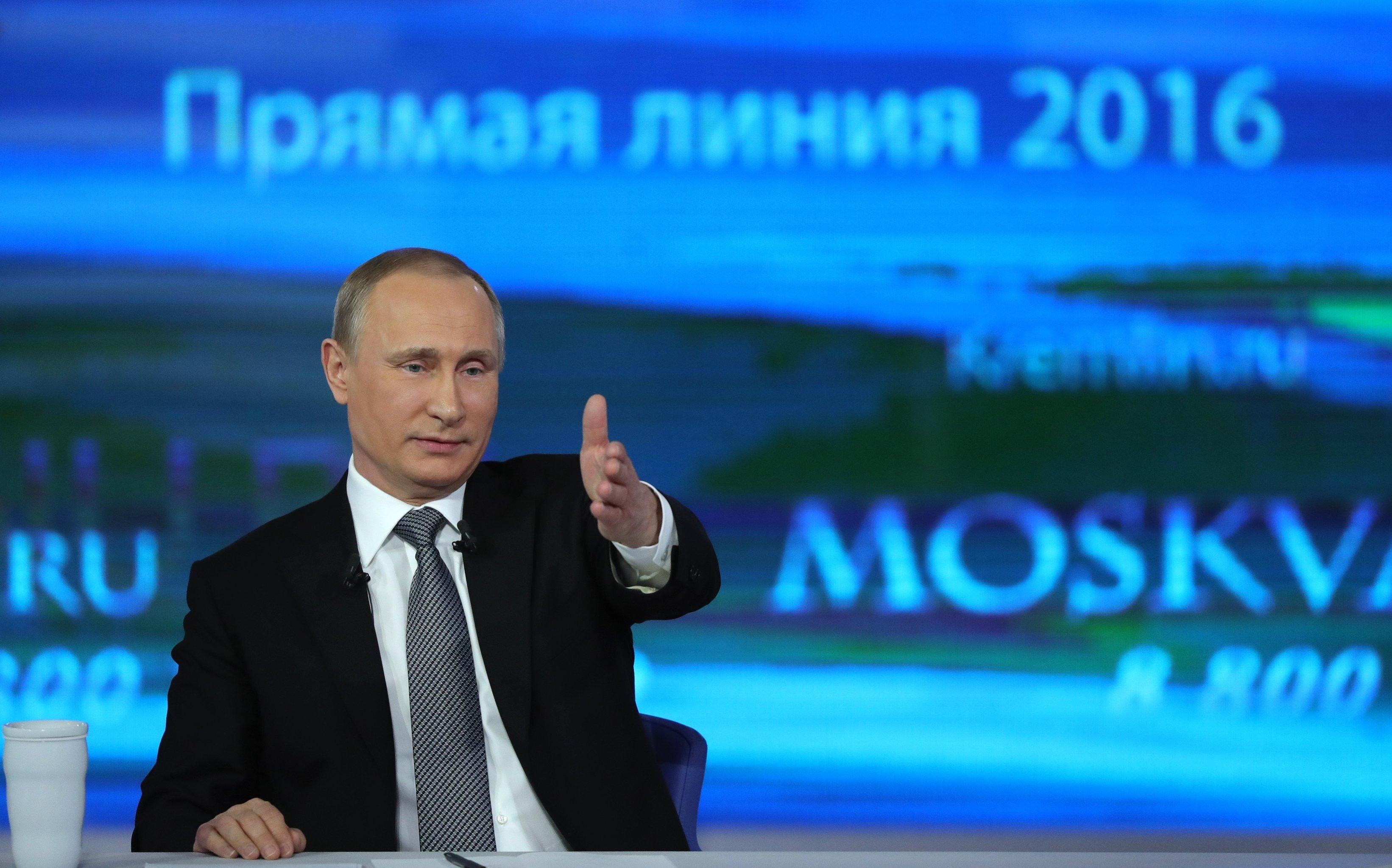 «Путин хочет войти в историю как царь, расширивший территорию России»
