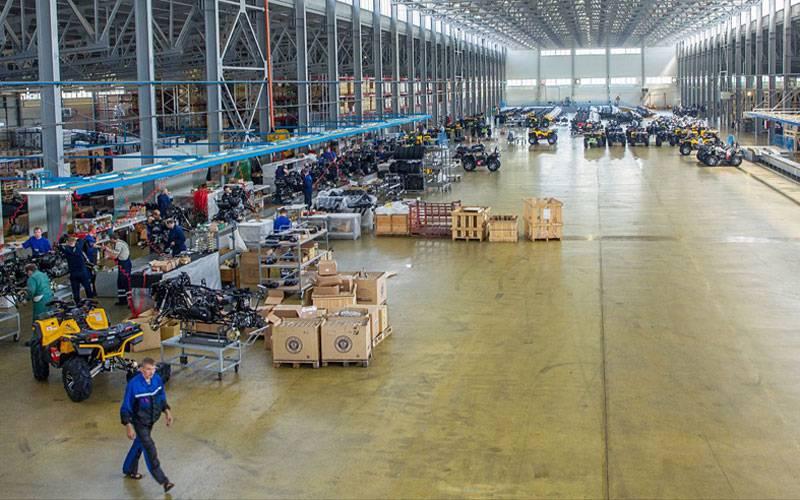 Жуковский веломотозавод признали ключевым производителем квадроциклов иснегоходов вРоссии