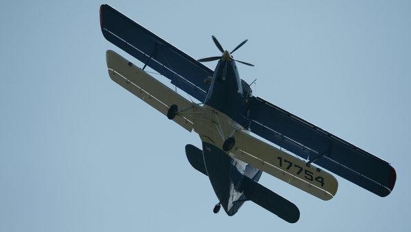 В Калифорнии потерпел крушение советский Ан-2 с изображением панды