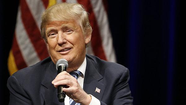Трамп уверен, что победит Клинтон на всеобщих выборах