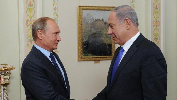 Путин и Нетаньяху обсудят усилия по борьбе с терроризмом