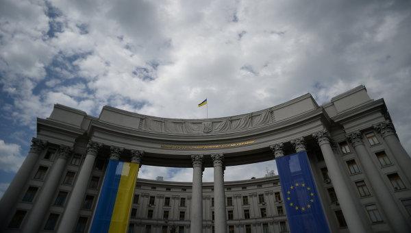 В МИД Украины заявили, что готовы разработать проект о выборах в Донбассе