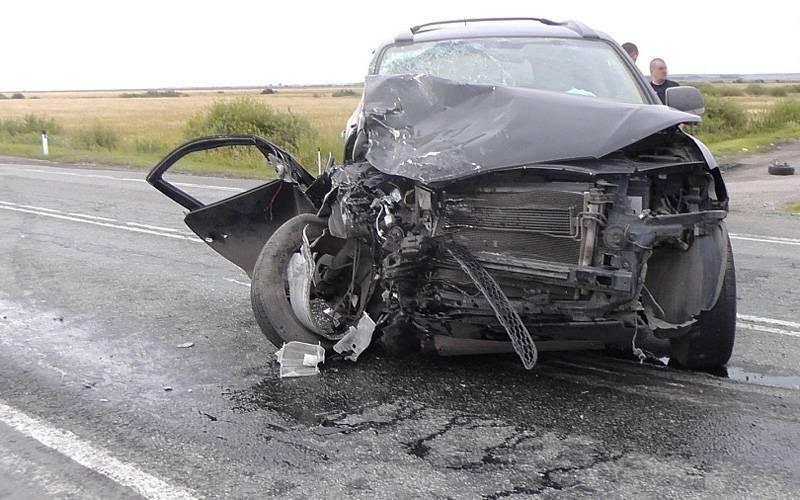 Под Брянском столкнулись четыре автомобиля