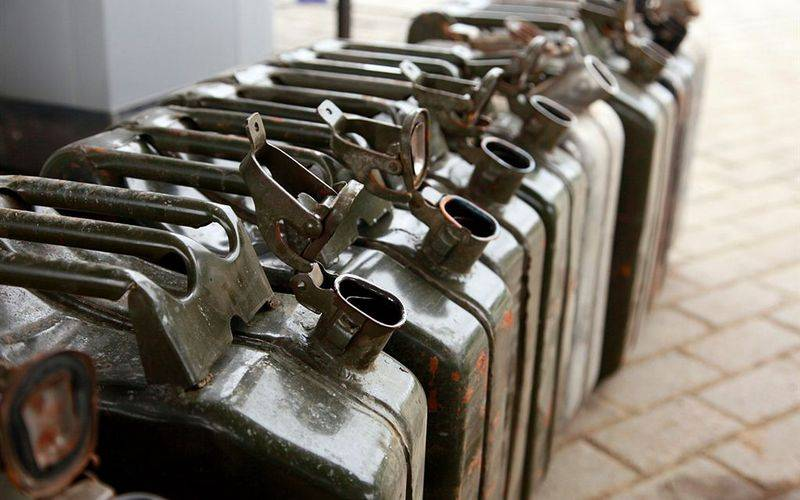 В Новозыбкове трехлетний ребенок отравился бензином