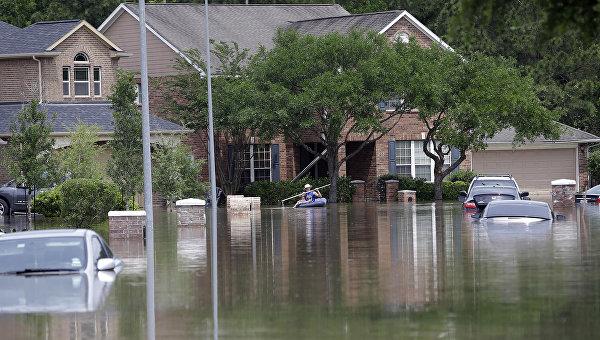 Пять человек погибли в результате ливней и наводнений в Техасе