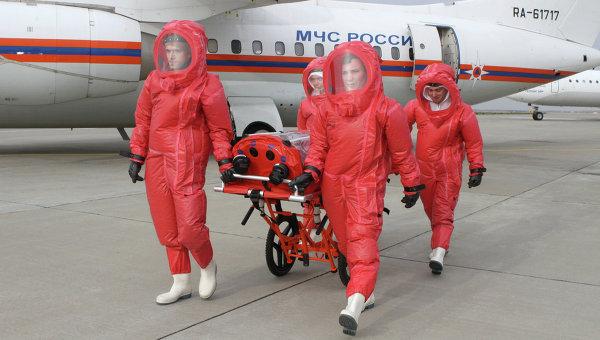 В Африке благодарны России за помощь в борьбе с вирусом Эбола