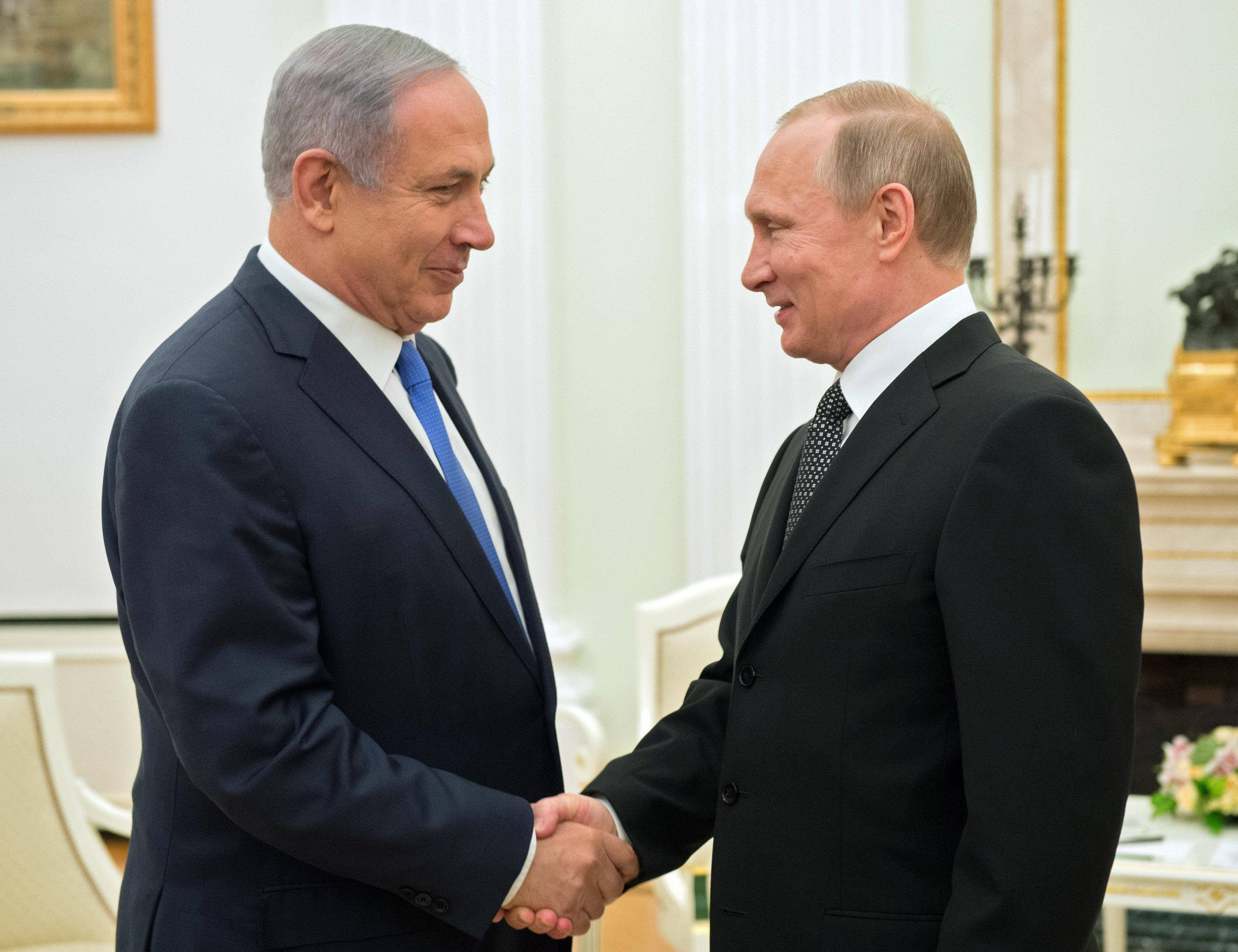 Путин хочет купить часть израильских газовых месторождений