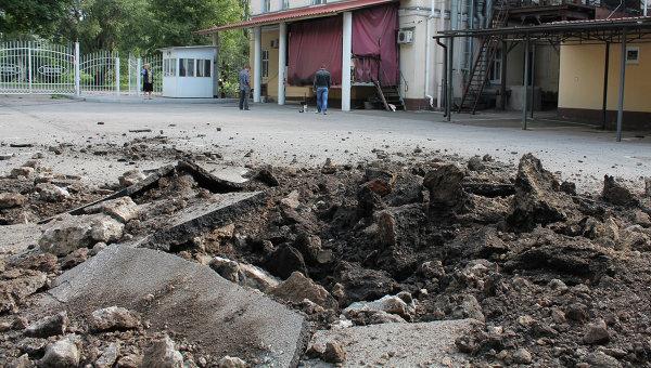 В ДНР заявляют об отстреле северного пригорода Донецка
