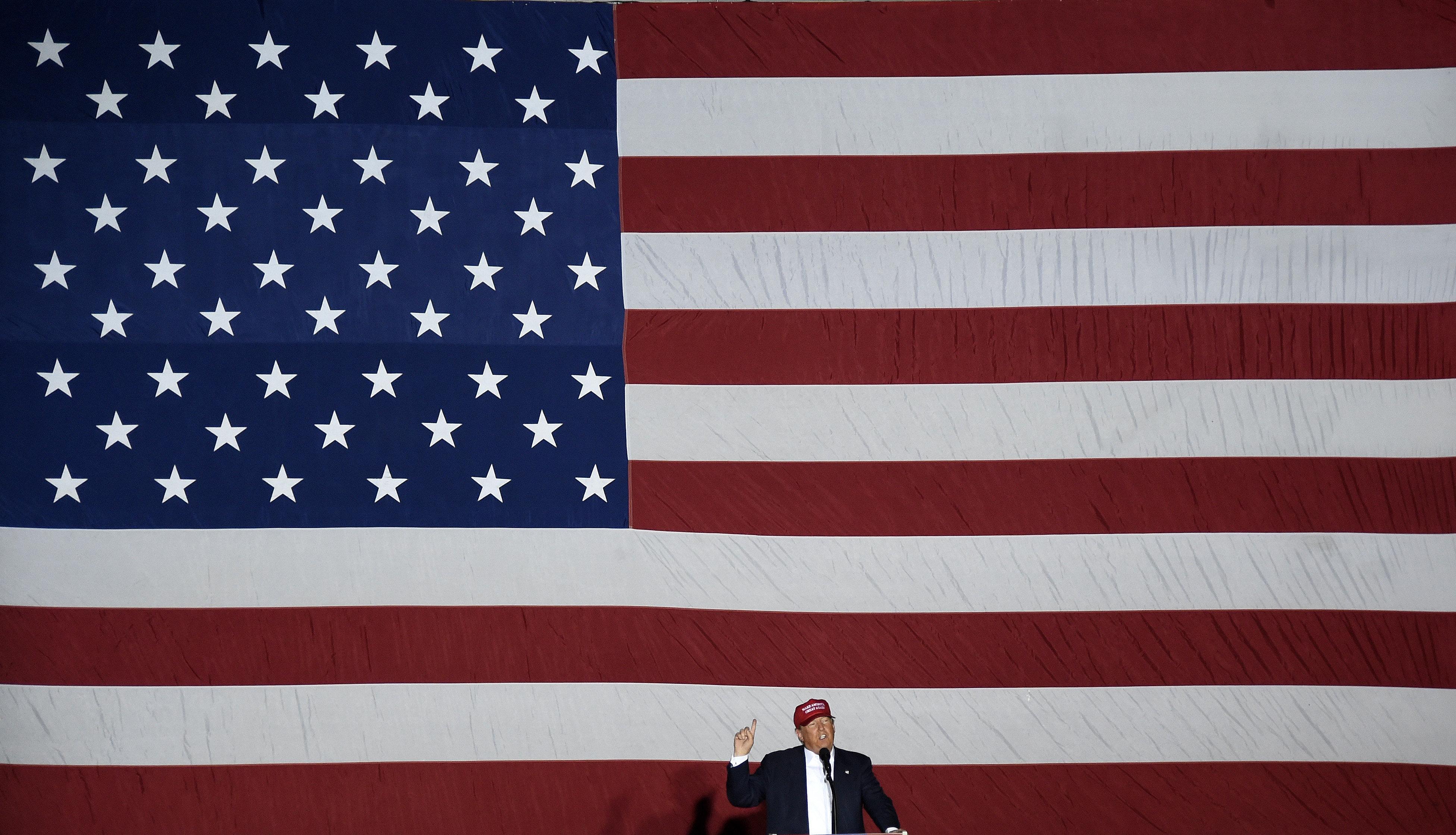 Дональд Трамп о внешней политике США