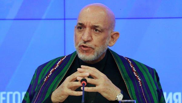Карзай: укрепление роли России позволит стать Афганистану сильнее