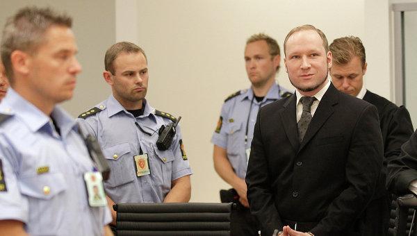 Суд Осло частично признал жалобу Брейвика обоснованной