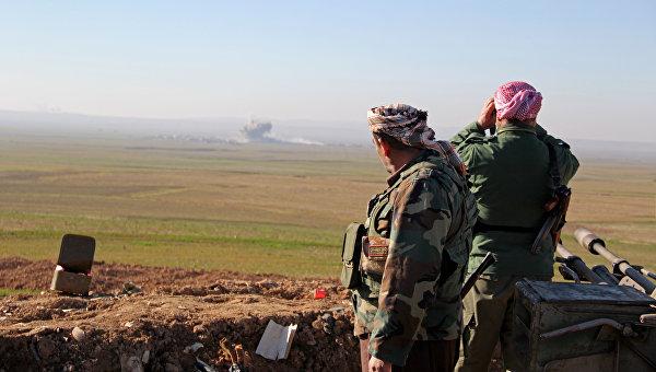 В Ираке боевики ИГ обстреляли курдских бойцов снарядами с хлором
