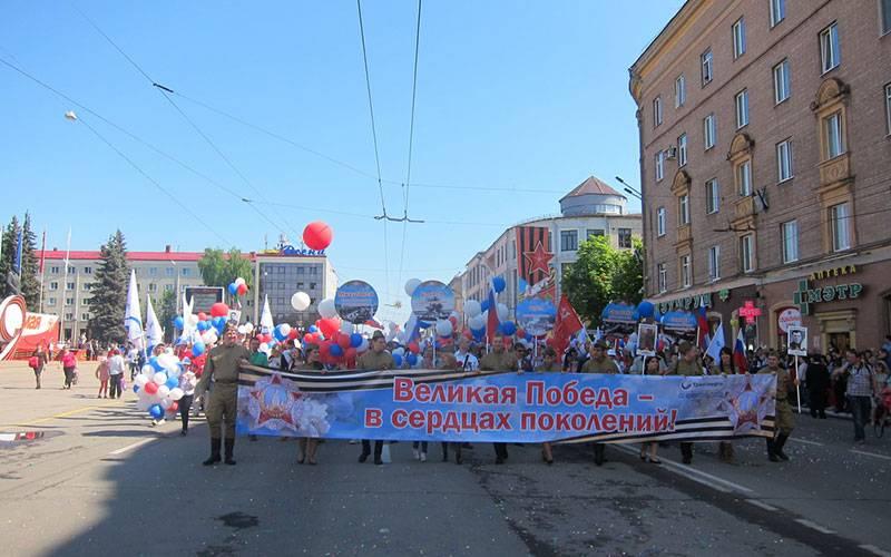 ВБрянске впобедных торжествах участвуют 85 тысяч человек