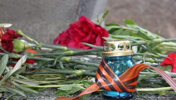 Во Львове празднование Дня Победы проходит спокойно