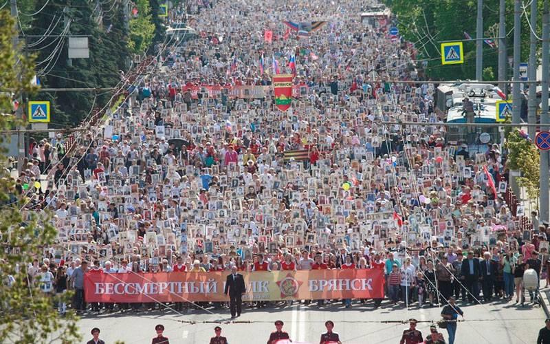ВБрянской области День Победы отметили более 180 тысяч человек