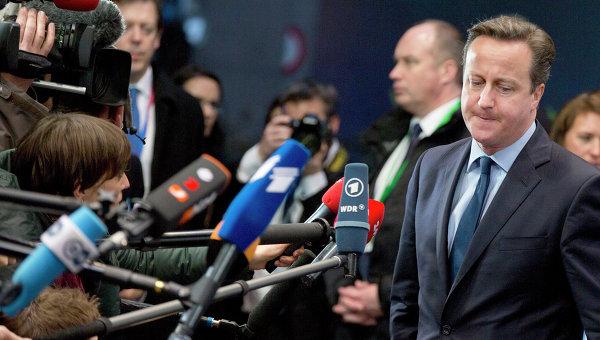 Кэмерон, забыв о включенном микрофоне, высказался об Афганистане и Нигерии