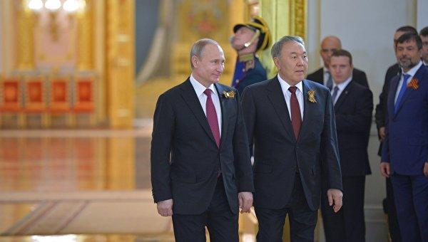 В России высоко оценили участие Назарбаева в Параде Победы