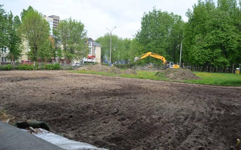 Возле Дома спорта «Динамо» вБрянске появится футбольное поле сискусственным покрытием