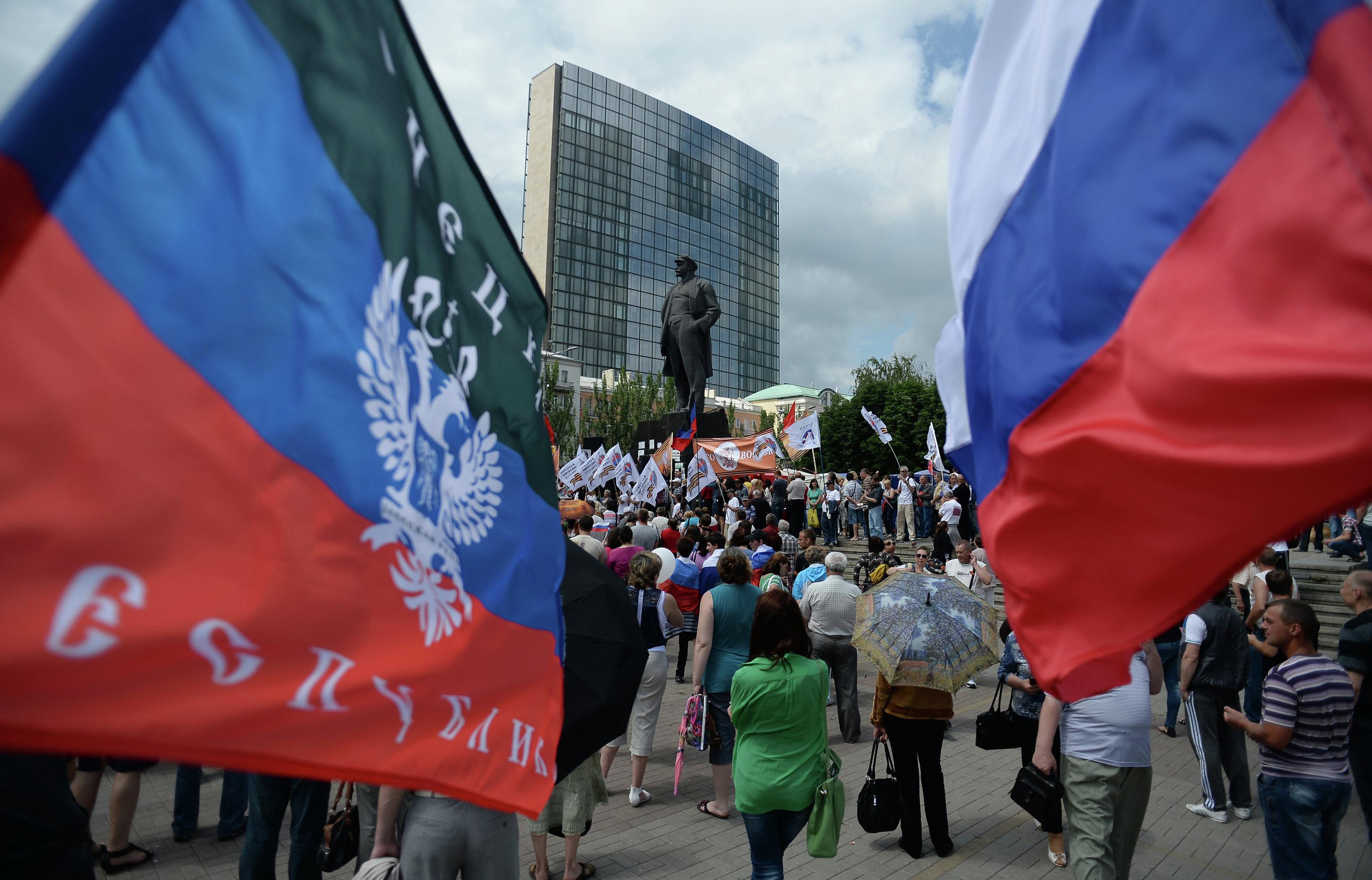 Праздник из-под палки: как в ДНР отметили «день республики»