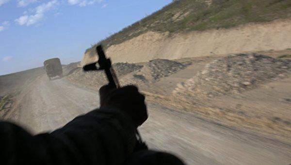 Баку заявил об обстреле Тертерского района на линии соприкосновения в НКР