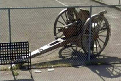 В Калифорнии из музея ветеранов украли пушку времен Первой мировой войны